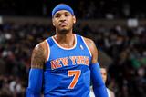 Boston  MA - January 24: Carmelo Anthony
