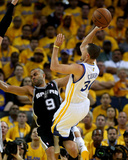 Oakland  CA - May 16: Stephen Curry and Tony Parker