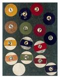 Solids & Stripes Giclée par Susan Gillette