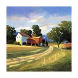 Barns on Greenbrier V Giclée par Max Hayslette