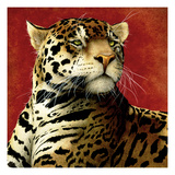Fire Cat Giclée par Will Bullas