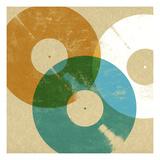 Records 3 Reproduction d'art par Stella Bradley
