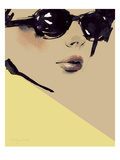 Chic Giclée premium par Ashley David