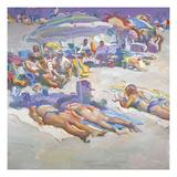 Sunbathers in Arragement
