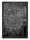 Chicago Map Giclée par GI ArtLab