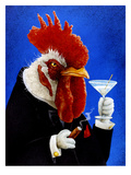 The Cocktail Giclée par Will Bullas