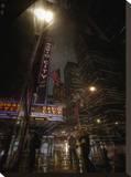 Radio City Rain Tableau sur toile par Dale MacMillan