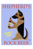 Shepherd'S Bock Beer Reproduction pour collectionneurs par Ken Bailey