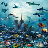 Notre Dame de Paris Reproduction d'art par Patrick Le Hec´h