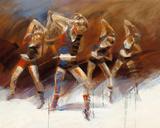 Dance up Reproduction d'art par Kitty Meijering