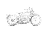 Motorcycle Sketch IV