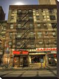 Mid Day in Midtown, New York City Tableau sur toile par A.J. Messier