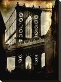 Pont de Manhattan Tableau sur toile par Dale MacMillan