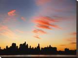 Lower Manhattan Skyline Tableau sur toile par Dale MacMillan