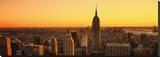 Empire State Sunset Tableau sur toile par Dale MacMillan