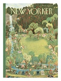 The New Yorker Cover - June 27  1953