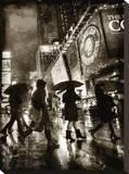 Rain Shopping Tableau sur toile par Dale MacMillan