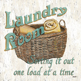 Laundry Room I Reproduction d'art par Debbie DeWitt