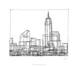 Wire Frame Cityscape I