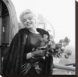 Marilyn with Roses