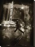 Radio City Umbrella Tableau sur toile par Dale MacMillan