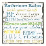 Bathroom Rules Multi