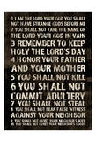 Full 10 Commandments