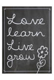 Love Learn Live Grow 1