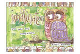 Pastel Owl Family 3 Imagination Will Take You Everywhere