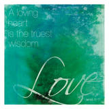 Watercolor Love Quoted