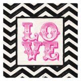 Cevron Love Pink
