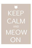 Keep Calm Cat