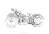 Motorcycle Sketch I