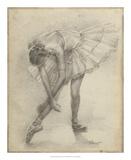 Antique Ballerina Study II Giclée par Ethan Harper