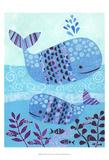 Ocean Blue Reproduction d'art par Kim Conway