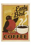 Early Bird Blend Coffee Giclée par Anderson Design Group