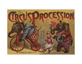 The Circus Procession  1888