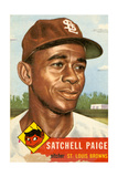 Topps Satchell Paige Baseball Card. 1953; Archives Center, NMAH Giclée