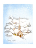 Greeting Card - Churches  Holy Night Silent Night  National Museum of American History