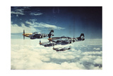 Air and Space: 361st Fight Group, Eighth Air Force Giclée