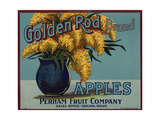Fruit Crate Labels: Golden Rod Brand Apples; Perham Fruit Company