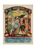 The Masquerade March Two Step, Sam DeVincent Collection, National Museum of American History Giclée
