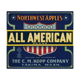 Warshaw Collection of Business Americana Food; Fruit Crate Labels  The CM Kopp Company