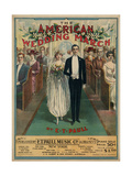 "Sheet Music Covers: ""The American Wedding March"" Composed by E T Paull  1918"