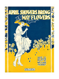 "Sheet Music Covers: ""April Showers Bring May Flowers"" Music by N and J Sh"