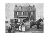 Smithsonian Libraries: Western Rural Postal Wagon Route – Delivering Mail  1899