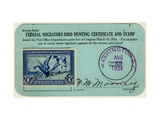 National Postal Museum: Federal Migratory-Bird Hunting Certificate and Stamp