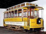 Electric Street Car from the Trains Collection at the National Museum of American History
