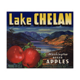 Warshaw Collection of Business Americana Food; Fruit Crate Labels  Lake Chelan Growers Union