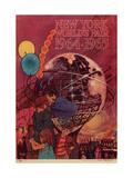 Center Warshaw Collection  Centennial Expositions  New York World's Fair